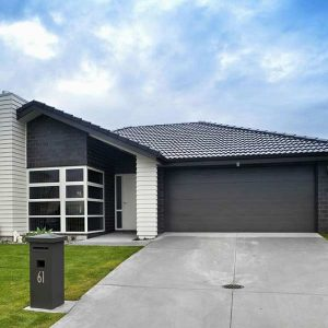 A Grade Garage Doors Perth | Shutters & Gates - Black home garage door in Perth, WA